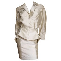 Thierry Mugler Silk Suit
