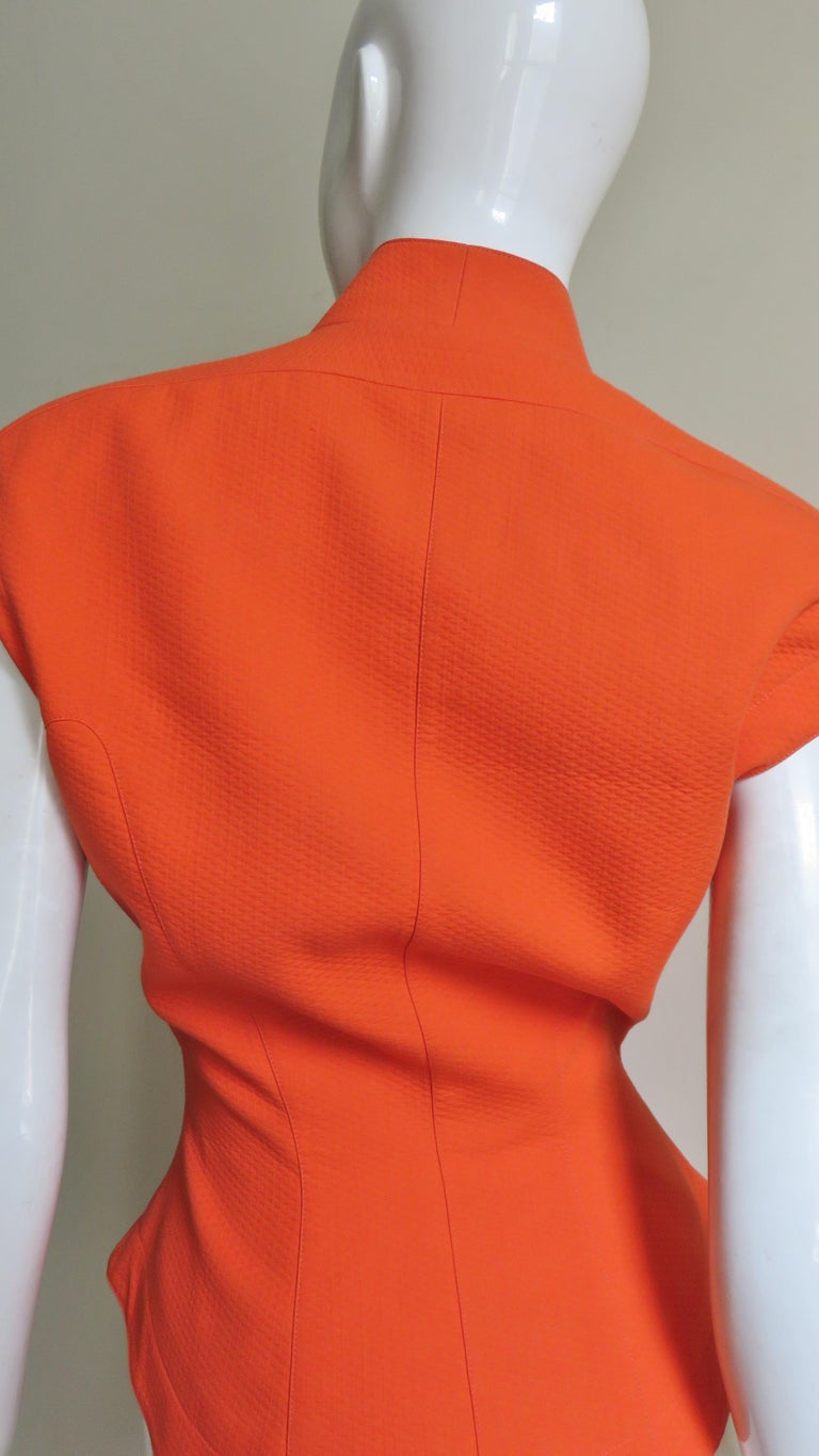 Thierry Mugler Space Age Jacket Top For Sale 5