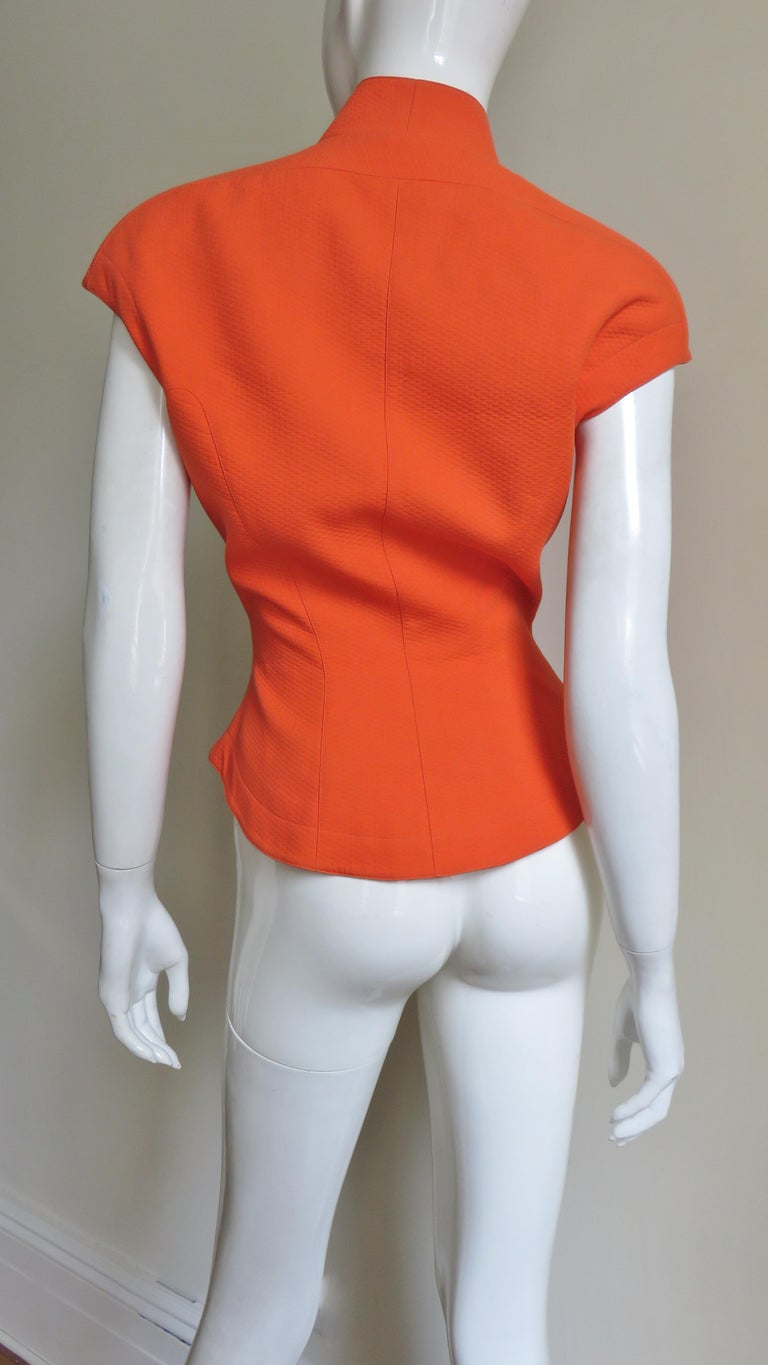 Thierry Mugler Space Age Jacket Top For Sale 6