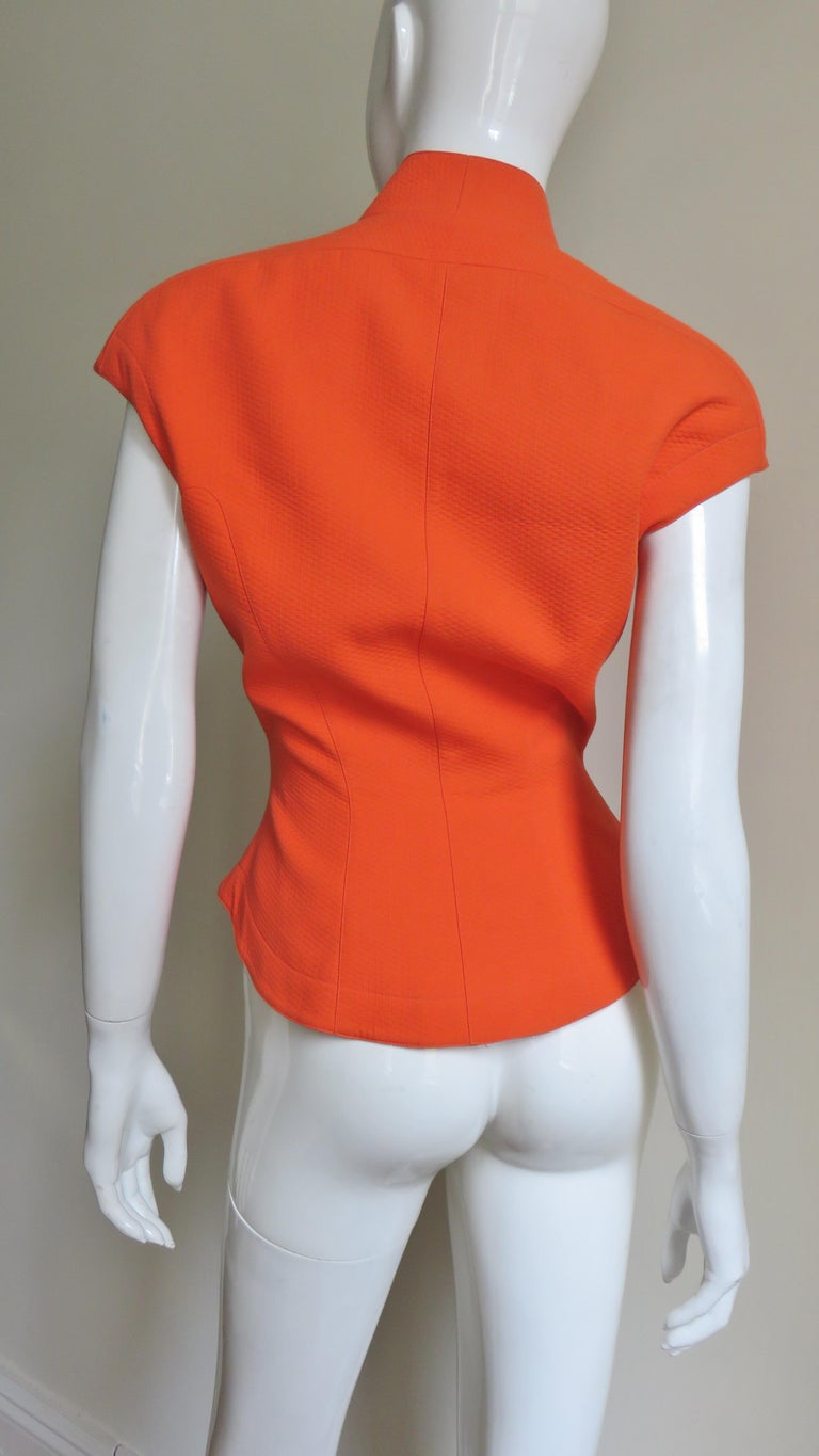 Thierry Mugler Space Age Jacket Top For Sale 4