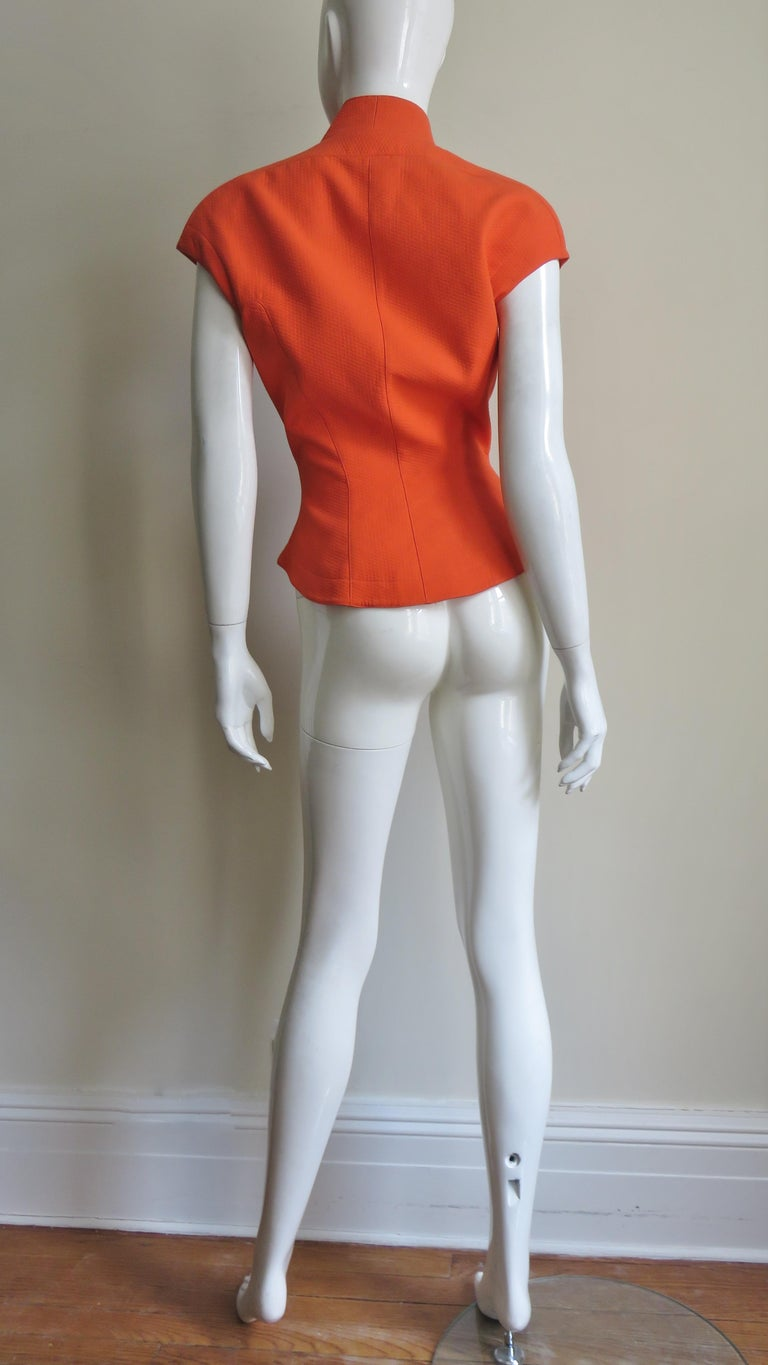 Thierry Mugler Space Age Jacket Top For Sale 7