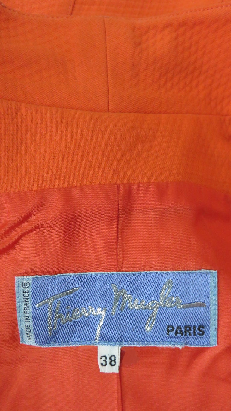Thierry Mugler Space Age Jacket Top For Sale 8