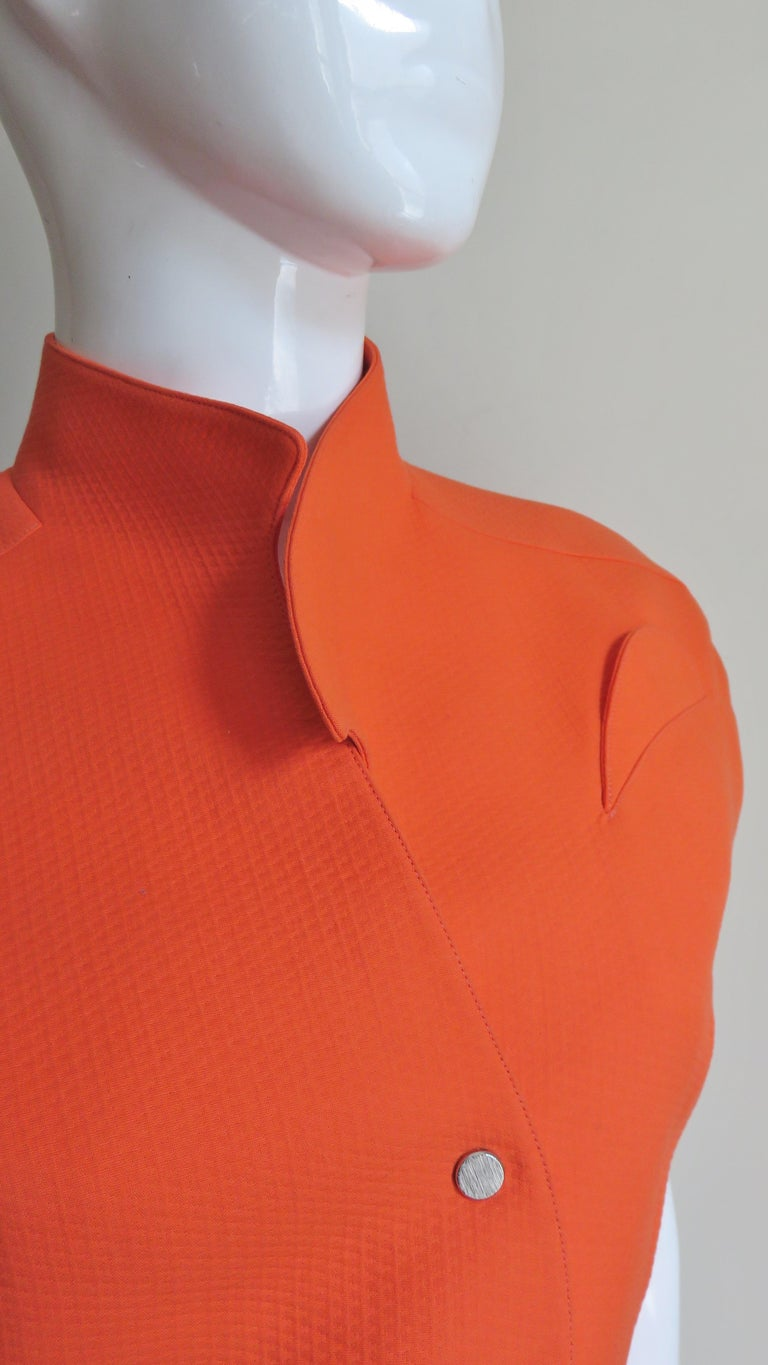 Women's Thierry Mugler Space Age Jacket Top For Sale