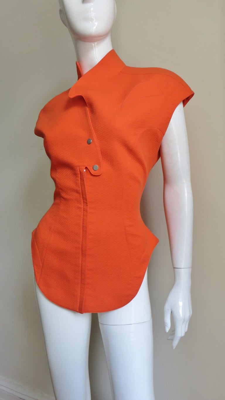 Thierry Mugler Space Age Jacket Top For Sale 2