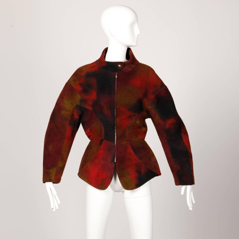 Thierry Mugler Vintage Jacket For Sale 1