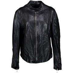 Thierry Mugler Vintage Leather Jacket - size M