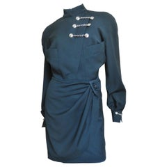 Thierry Mugler Wrap Dress