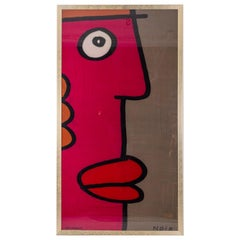 Thierry Noir, Printed Fabric, 1990s