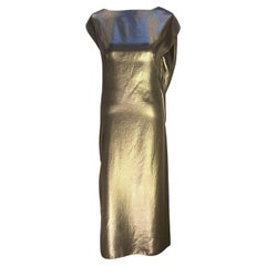 Thimister Silvery Lame Dress
