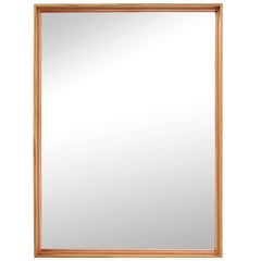 Thin Line Wood Mirror by WYETH