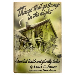 Things That Go Bump in the Night Hardcover by Louis C. Jones, 1st Ed