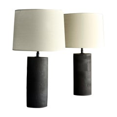 Thira Lamp, Ceramic Sculptural Table Lamp by Dumais Made