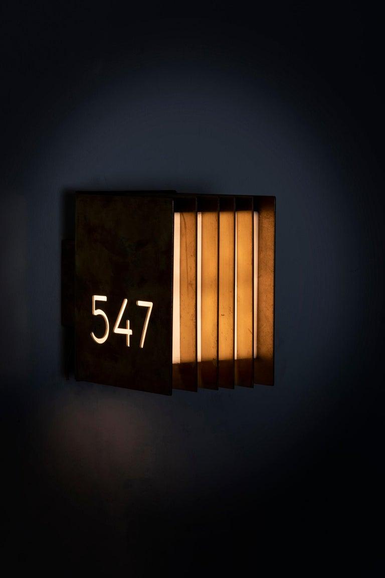 Finnish Thirteen Wall Lamps by Lars Gunnar‐Nordström For Sale