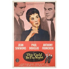 This Could Be the Night 1957 U.S. One Sheet Film Poster