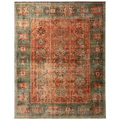 This Hand Knotted Classic Rug Joins the Latest Additions to the Homage