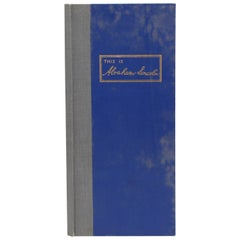 This is Abraham Lincoln by Frederick Hill Meserve, Limited Edition, 1941