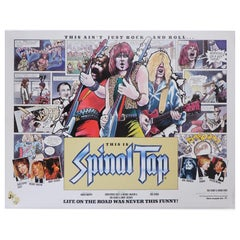 """This Is Spinal Tap"" 1984 Poster"