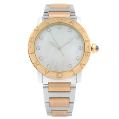 This pre-owned Bvlgari Bulgari BBL37WSPG/12 is a beautiful Ladies timepiece that