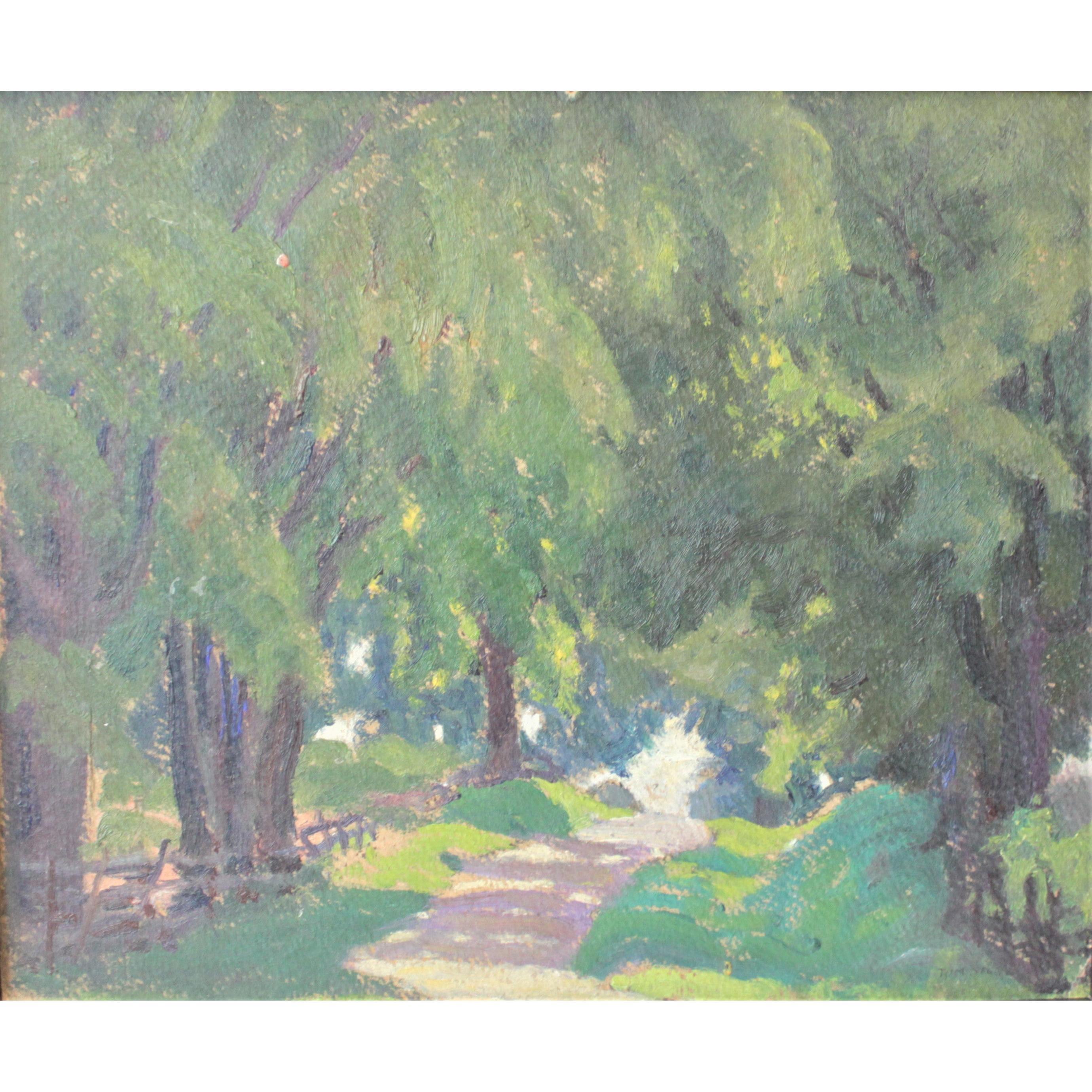 Thomas (Tom) Arthur Stone Original Oil Painting on Board: Canada
