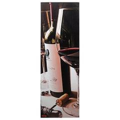 Thomas Arvid America's Bordeaux Giclee on Canvas Opus One Wine