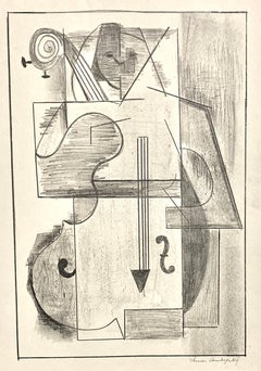 (Cubist Musician)