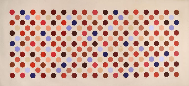 Grid Seventeen - Painting by Thomas Downing