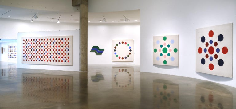 Grid Seventeen - Colour-Field Painting by Thomas Downing