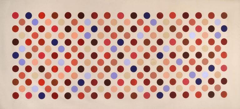 Thomas Downing Abstract Painting - Grid Seventeen