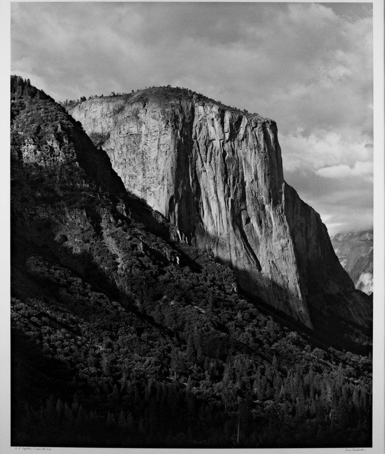 "Yosemite National Park Black And White: ""El Capitan, Yosemite National Park CA"