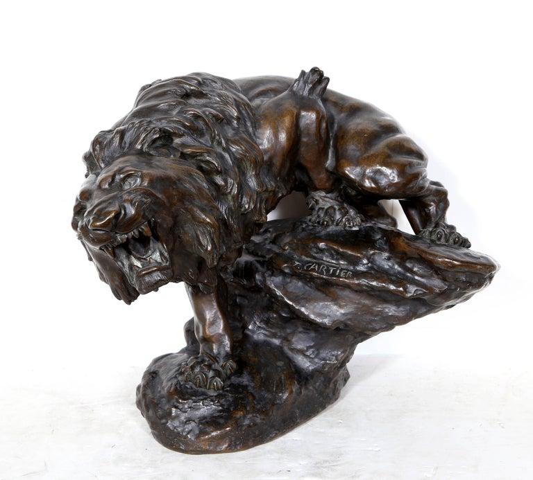Snarling Lion For Sale 1