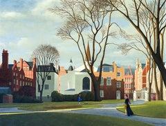 Mount Street Gardens and the Grosvener Chapel, London