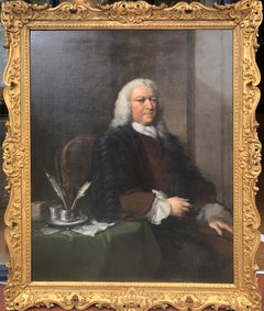 Beautiful 18th Century Irish Portrait of a Gentleman