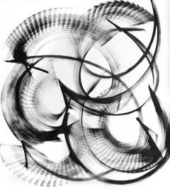 Gamma Piscium - Black and White Painting