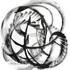 Misam - Black and White Painting