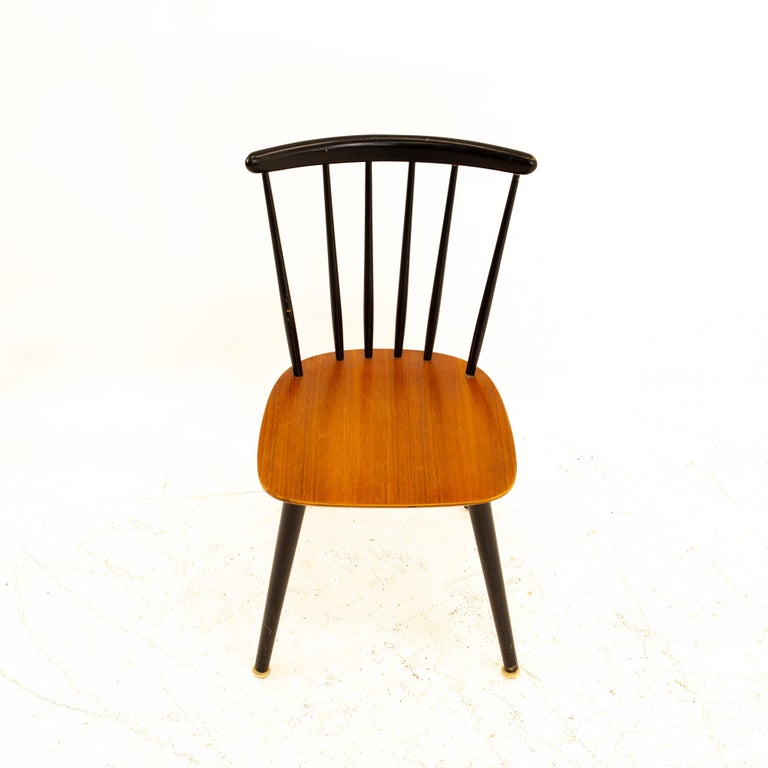 Pair of Thomas Harlev for Farstrup Mobelfabrik Danish Mid Century Dining Chairs For Sale 4