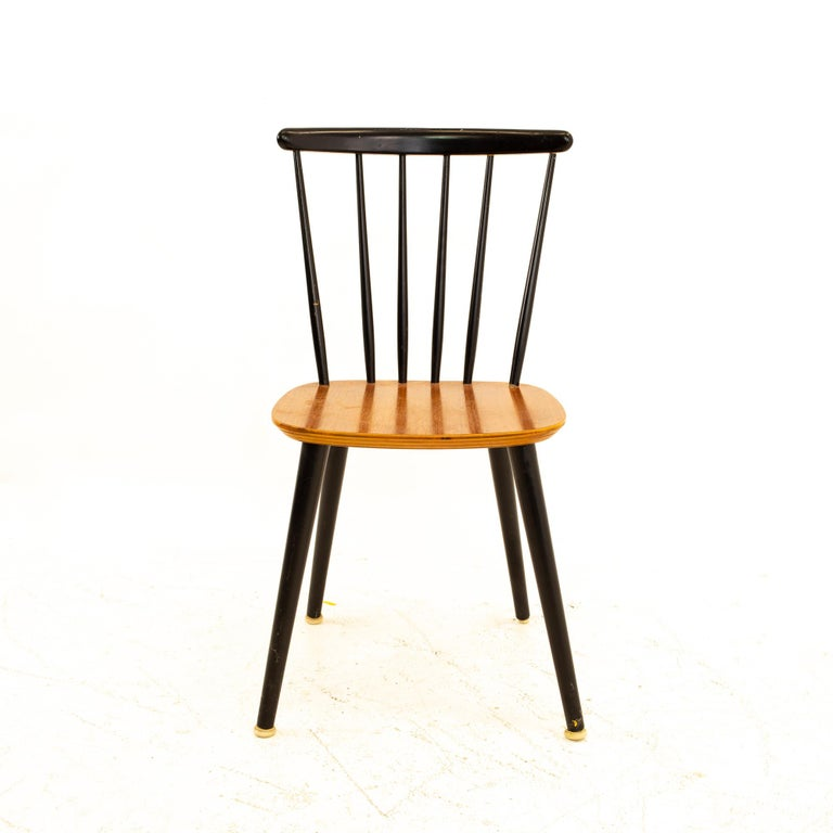 Wood Pair of Thomas Harlev for Farstrup Mobelfabrik Danish Mid Century Dining Chairs For Sale