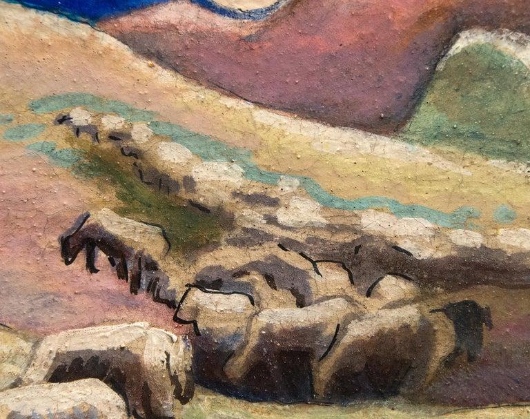 A painting by Thomas Hart Benton.