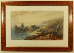 Kynance Cove by Thomas Hart FSA 1873