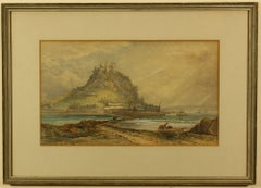 St Michael's Mount from Marazion by T Hart FSA