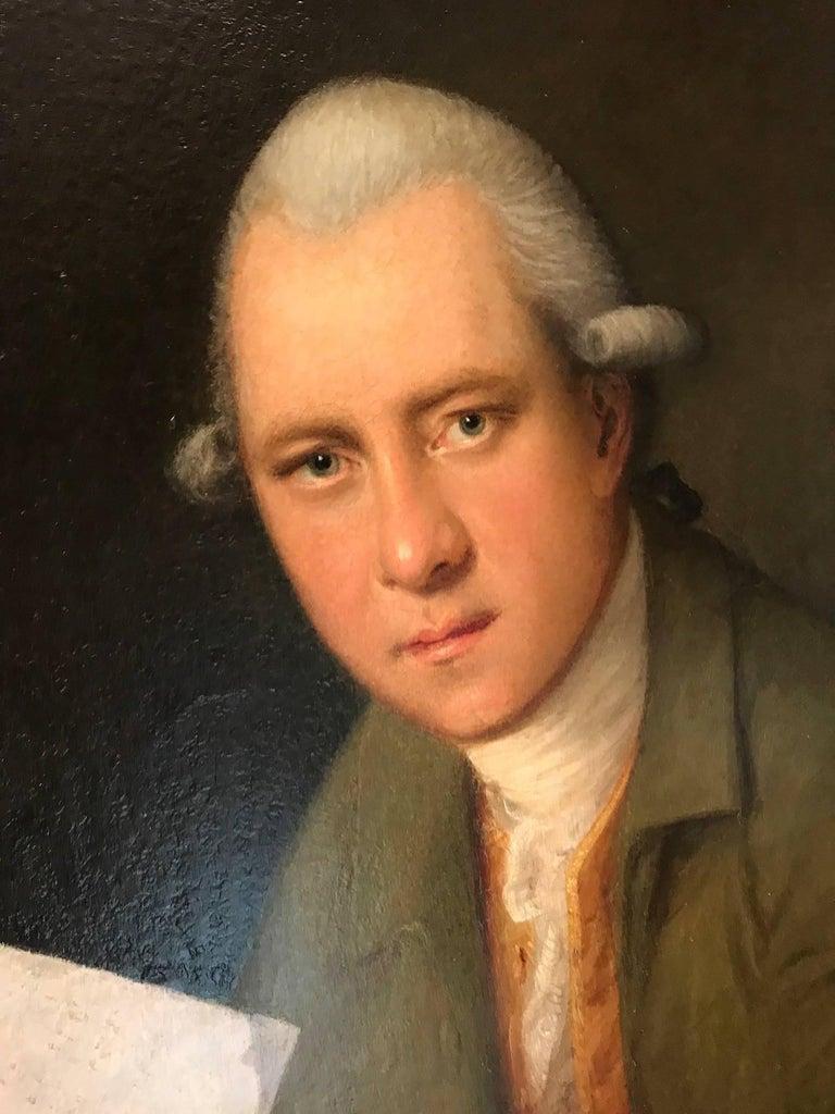 Portrait of the oboist John Parke (1745–1829) For Sale 1