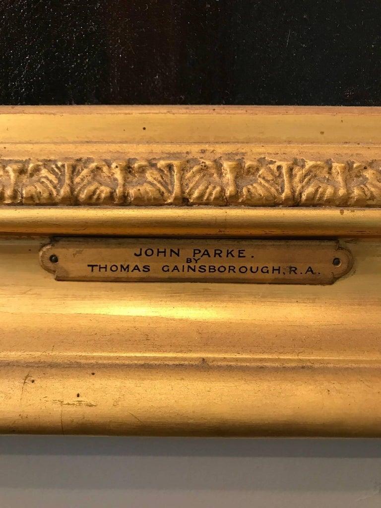 Portrait of the oboist John Parke (1745–1829) For Sale 2