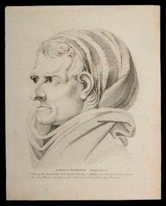 Atran-Tiberine - Original Etching by Thomas Holloway - 1810