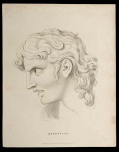 Attention - Original Etching by Thomas Holloway - 1810