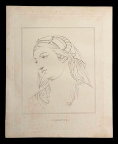 Clemency - Original Etching by Thomas Holloway - 1810
