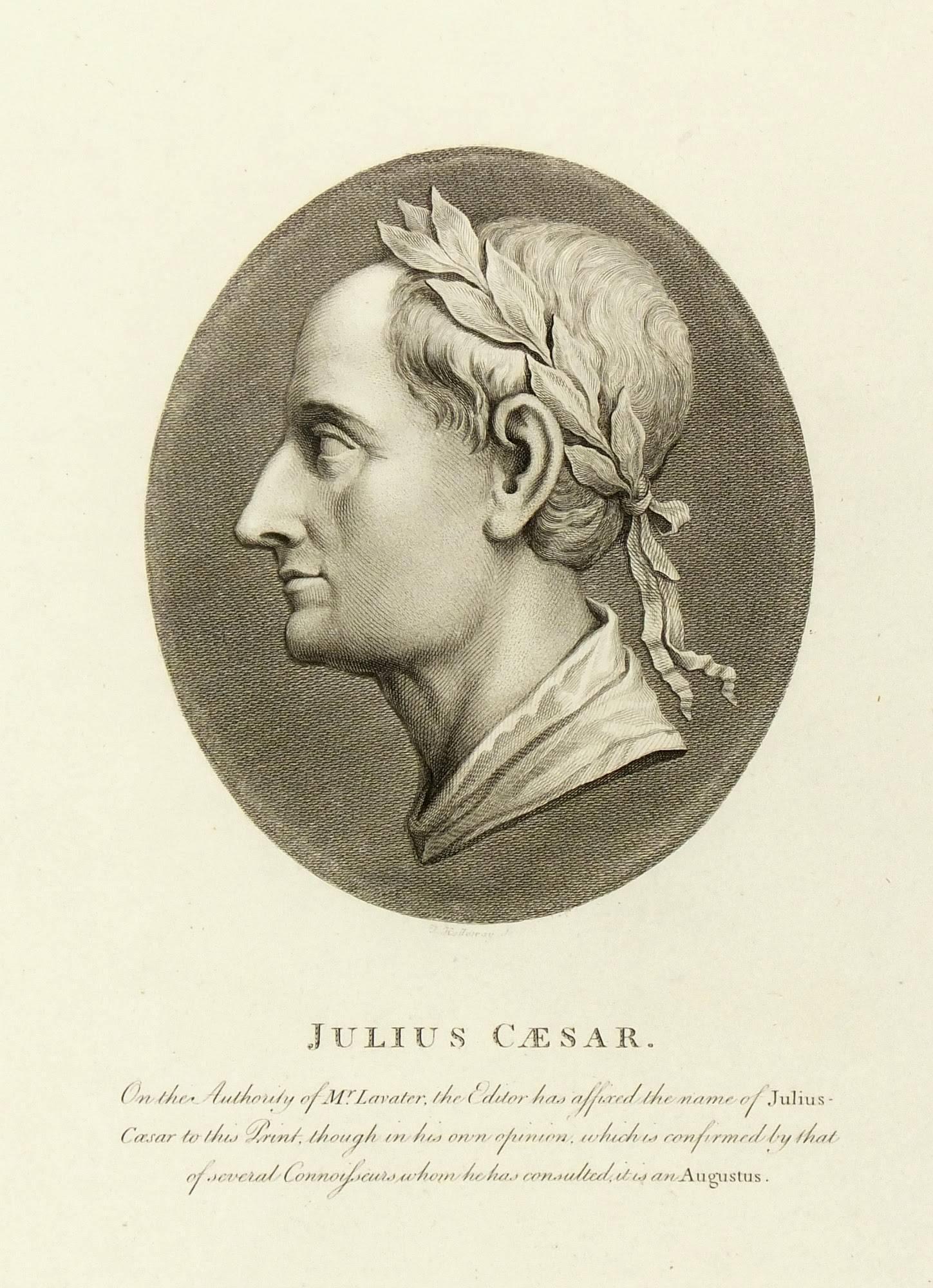 Copper Engraving - Julius Caesar