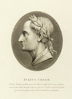 Copper Engraving - Julius Caesar