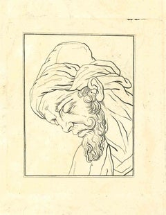 Portrait of a Man - Etching by Thomas Holloway - 1810