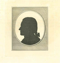 The Physiognomy - The Profile - Original Etching by Thomas Holloway - 1810
