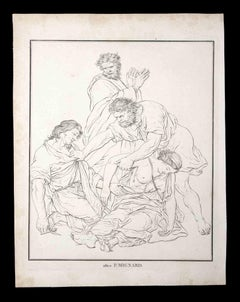 The Surviving - Original Etching by Thomas Holloway - 1810