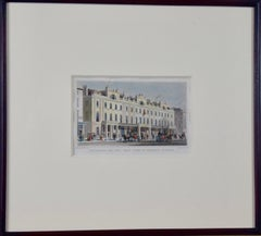 Three 19th C. Hand Colored Engravings of British Architecture by T. Shepherd